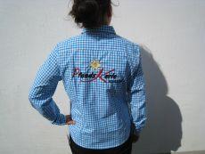 Damen Trachtenhemd bestickt Pfunds-kerle spezial
